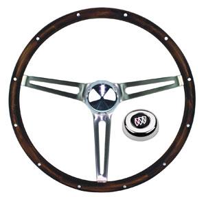 1961-63 Skylark Steering Wheels, Wood, by Grant