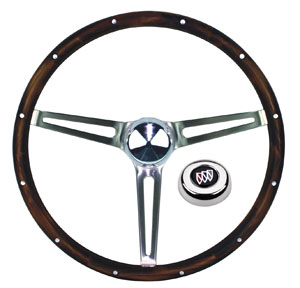 1961-63 Skylark Steering Wheels, Wood