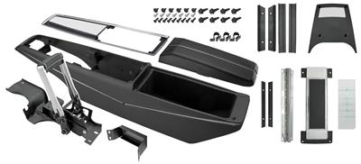 1968-1968 Chevelle Console Kits, Powerglide Center Complete w/Shifter, by RESTOPARTS