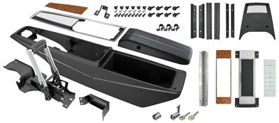 1970 Monte Carlo Console Kit, Center (Turbo) Green Letters with Shifter, by RESTOPARTS