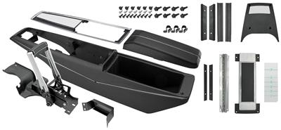 1968-1968 El Camino Console Kit, Turbo Hydra-Matic Center Complete w/Shifter, by RESTOPARTS