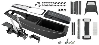 1971-72 El Camino Console Kit, Turbo Hydra-Matic Center Complete w/Shifter, by RESTOPARTS