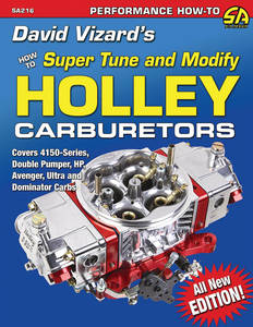 Super Tune and Modify Holley Carburetors