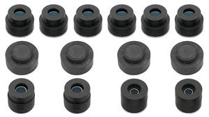 1968-72 Body Bushing Kits, Complete Coupe/El Camino, by RESTOPARTS