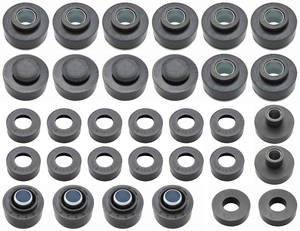 1968-1972 Skylark Body Bushing Kits, Complete 30-Piece, by RESTOPARTS