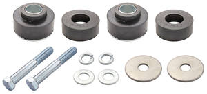 1969-72 Body Mount Bushing Supplement (Grand Prix) w/Hardware