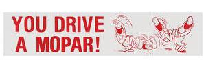 1978-88 Monte Carlo Bumper Sticker Mopar Ha Ha!!
