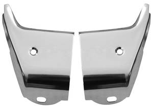 1964-1964 Chevelle Rocker Molding Extension, 1964 Lower Front, by RESTOPARTS