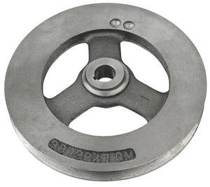 1965-68 El Camino Pulley, Big-Block Deep Groove Power Steering