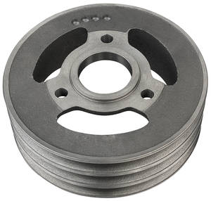 1965-1968 El Camino Pulley, Big-Block Deep Groove Crankshaft, 3-Groove, SHP