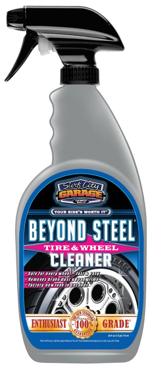beyond steel wheel cleaner 24 oz by surf city garage. Black Bedroom Furniture Sets. Home Design Ideas
