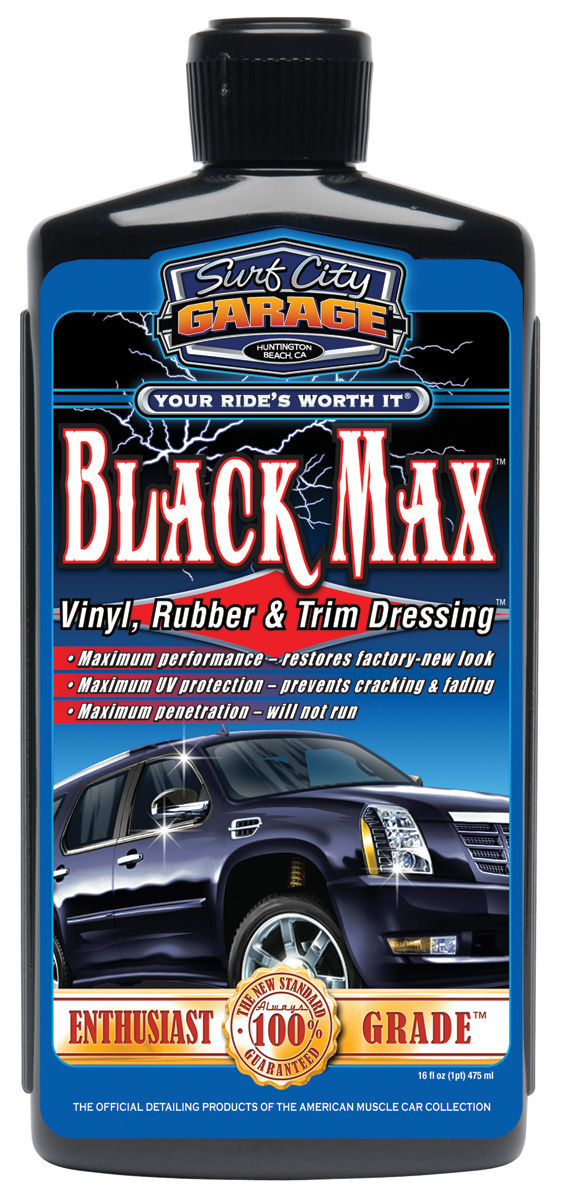 Photo of Black Max™ Vinyl, Rubber & Trim Dressing 16-oz.