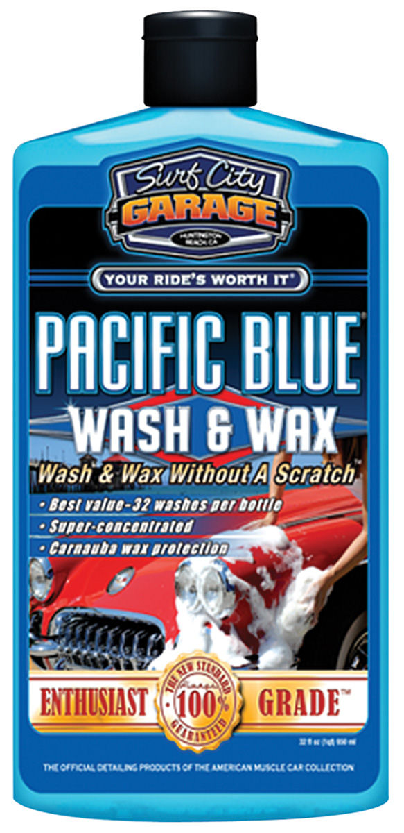 Photo of Pacific Blue Wash & Wax 16-oz.