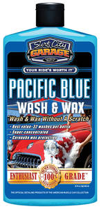 Pacific Blue Wash & Wax 16-oz., by Surf City Garage