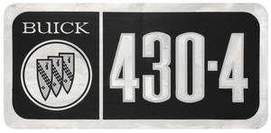 1967-69 Skylark Valve Cover Decal 430-4