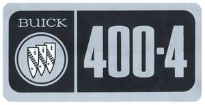 1967-70 Skylark Valve Cover Decal 400-4