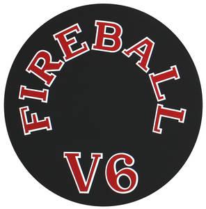1962-65 Skylark Air Cleaner Decal Fireball V6