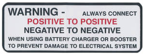 """1968 Skylark Air Cleaner Decal, """"Keep Your GM Car All GM"""" GS 350/GS 400 (BC, #6484022)"""