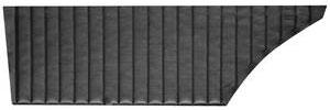 Door Panels, 1970 Skylark/GS 350/GS 455 Rear, Hardtop