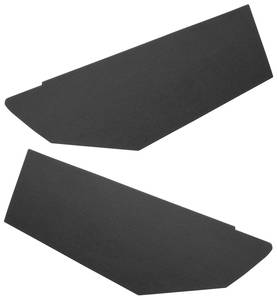 1967-68 Sail Panels, Side Rear Bonneville and Catalina 2-dr. HT