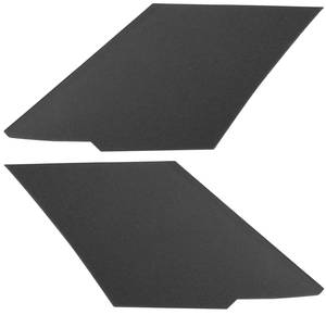 1966-67 Cutlass Sail Panels, Side Rear 4-dr. Sedan, Late