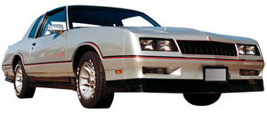 1981-86 Ground Effects Kit, Side Skirt (Monte Carlo)