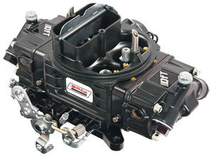 1978-88 El Camino Carburetors, Super Street Series Vacuum Secondaries 780 CFM, Black Diamond