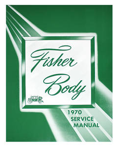 1970-1970 Bonneville Fisher Body Manuals