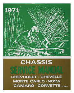 1971 Chevelle Chassis Service Manual