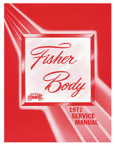 1971-1971 Grand Prix Fisher Body Manuals