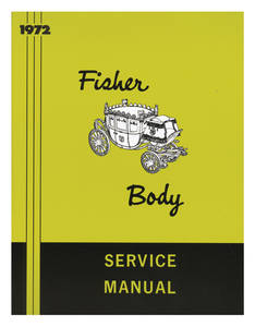 1972-1972 Cadillac Fisher Body Manuals