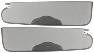 1959-60 Catalina/Full Size Sun Visors Napped Cotton 2-/4-Door Hardtop
