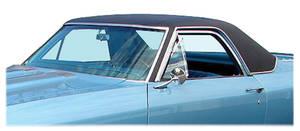 1968-72 El Camino Vinyl Top Cab + Bed