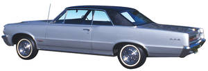 1966-1967 GTO Vinyl Top 2-dr. Coupe