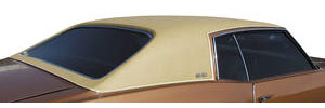 1973-77 Monte Carlo Vinyl Top (Half Rear Top) Levant Grain