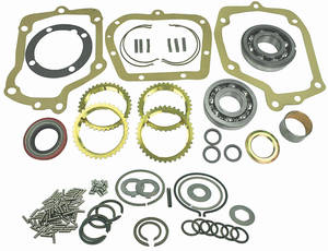 1963-65 Grand Prix Transmission Master Rebuild Kit Muncie 4-Spd.
