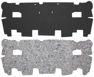 1967-68 Bonneville Trunk Divider Board Accessory Kit Exc. Convertible