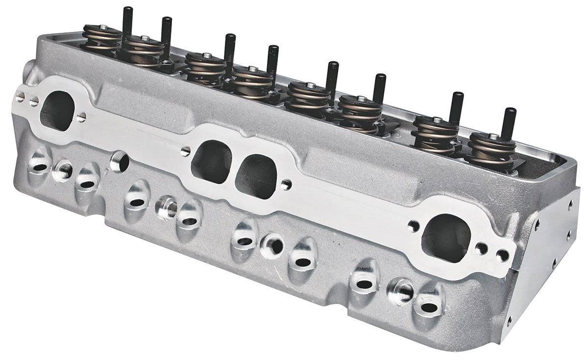 "Photo of Cylinder Heads, Super 23 Sb (3/8"" Rocker Studs) 195CC, Alum., CNC Chamber, HF"