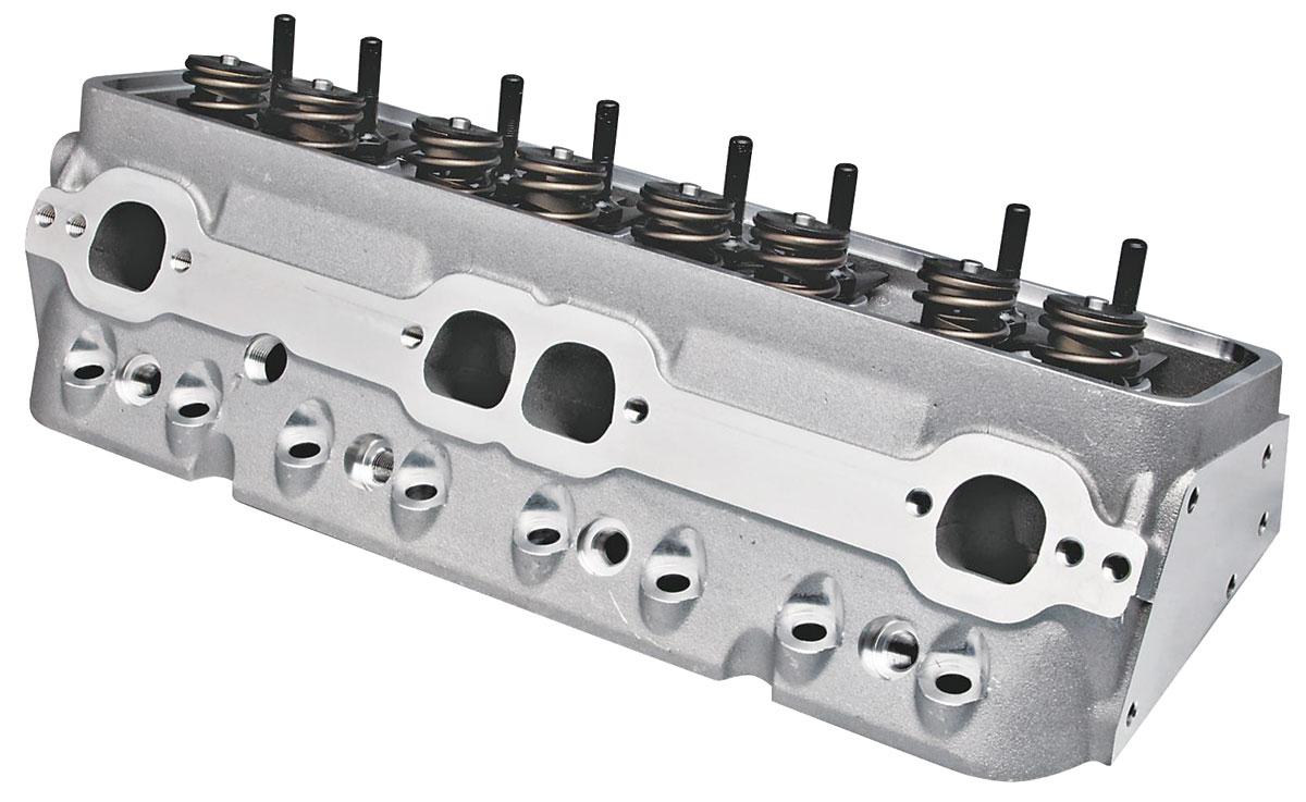 "Photo of Cylinder Heads, Super 23 Sb (3/8"" Rocker Studs) 195CC, Alum., CNC Chamber, MF/HF"