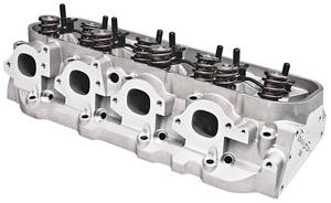 "1978-1988 El Camino Cylinder Heads, PowerOval Bb (7/16"" Rocker Studs) 320CC, Std. Chamber, MR"