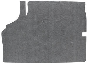 1964-65 Chevelle Trunk Mat Kits, Rubber Crosshatch (Black/Gray)