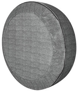 """1964-66 Chevelle Trunk Spare Tire Cover Crosshatch, 14"""""""
