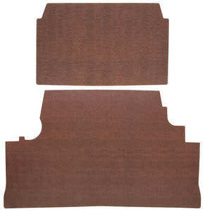 1963-1963 Catalina Trunk Mat Kit, Catalina Convertible (Red Herringbone)