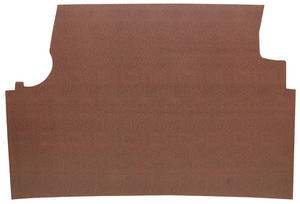 1963-1964 Catalina Trunk Mat Kit, Catalina Hardtop 4-dr. (Red Herringbone)