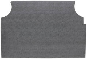 1967-68 Grand Prix Trunk Mat Kit Coupe (Gray Herringbone)