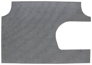 1968 Bonneville Trunk Mat Kit Convertible (Gray Herringbone)