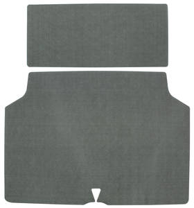 1970 Grand Prix Trunk Mat Kit Coupe (Green/Gray Felt)