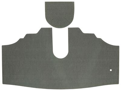 1973 Trunk Mat Kit, Catalina All (Green/Gray Felt)