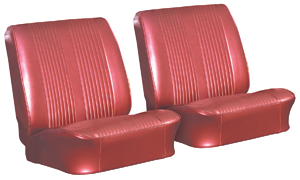 Seat Upholstery, 1962 Reproduction Tempest and Lemans Buckets, Front