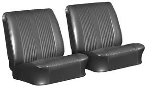 Seat Upholstery, 1962 Reproduction Tempest and Lemans Buckets, w/Coupe Rear